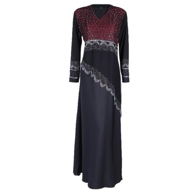 Black and Coffee Georgette Casual Borka For Women