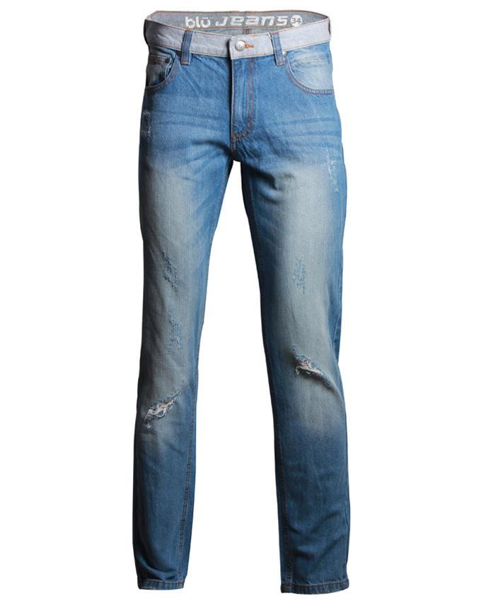 Denim Casual Jeans Pants - Light Blue