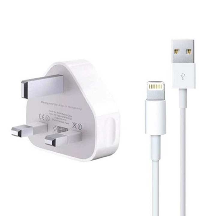 iPhone Charger with USB Cable for Iphone 5/6/6+ - White