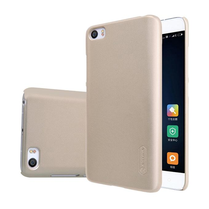 Super Frosted Shield Back Cover for Xiaomi M5 - Golden
