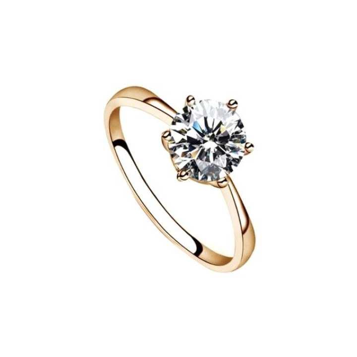 Rose Gold Finger Ring for Women