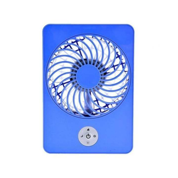 Mini USB Rechargeable Fan - Blue