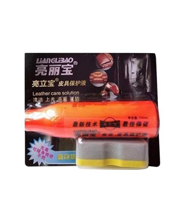 Genuine US-State Light Oil Leather Shoe Cleaner - 1pc