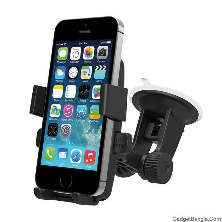 Easy One Touch Car Mount - Black