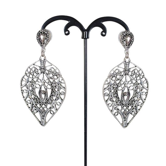 Silver Metal Earring for Women