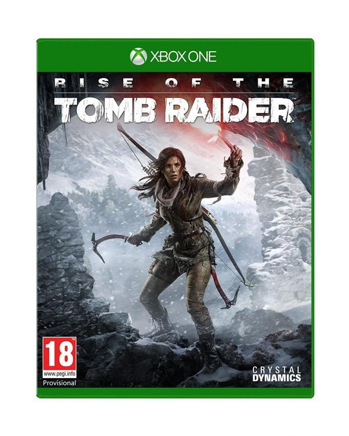 Rise of the Tomb Raider Gaming CD For Xbox One