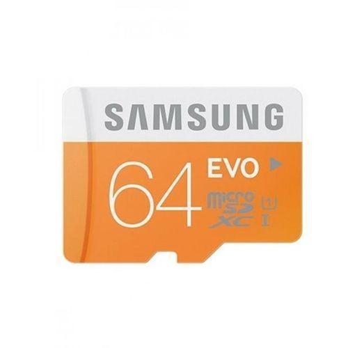 64GB EVO Class 10 Micro SD Card - Orange