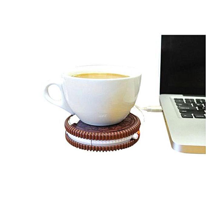 Hot Cookie Coffee Warmer - Chocolate