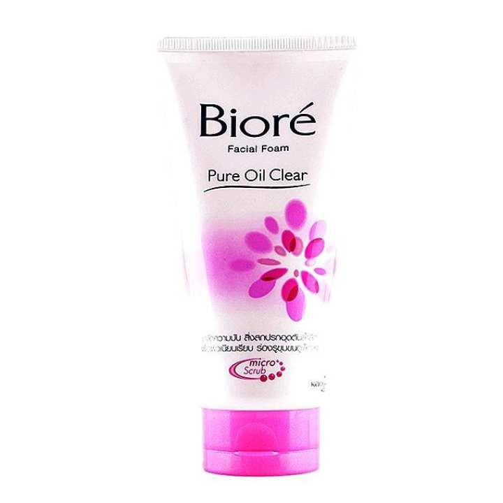 Pure Oil Cleaner Facial Foam Face Wash for Women - 50g