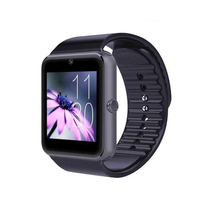 GT08 Single SIM Smartwatch - Black