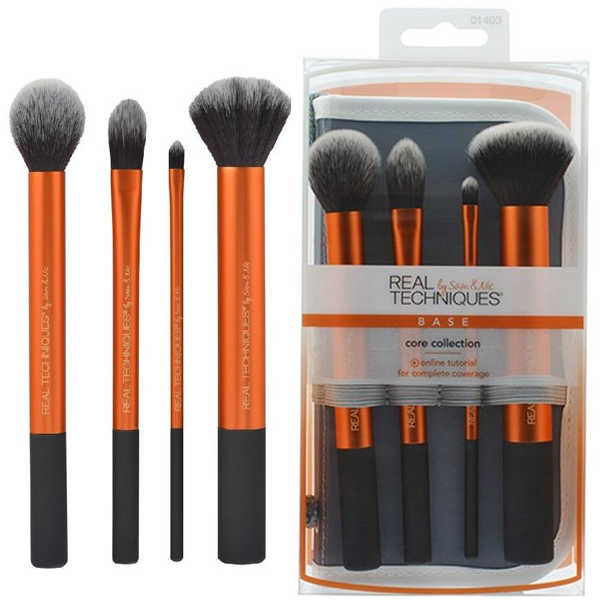 Real Techniques Complete Erge Makeup Brush Set Core Collection