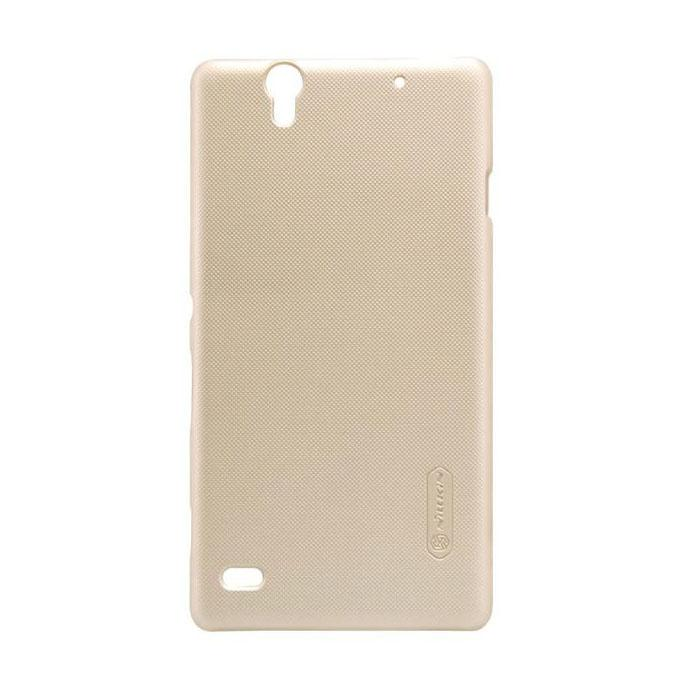 Sony Xperia C4 Super Frosted Shield Back Case - Golden