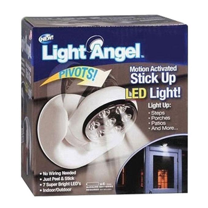 Light Angel Stick Up LED Light - White