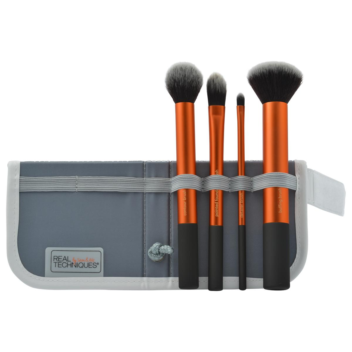 Real Techniques Complete Coverge Makeup Brush Set - Core Collection