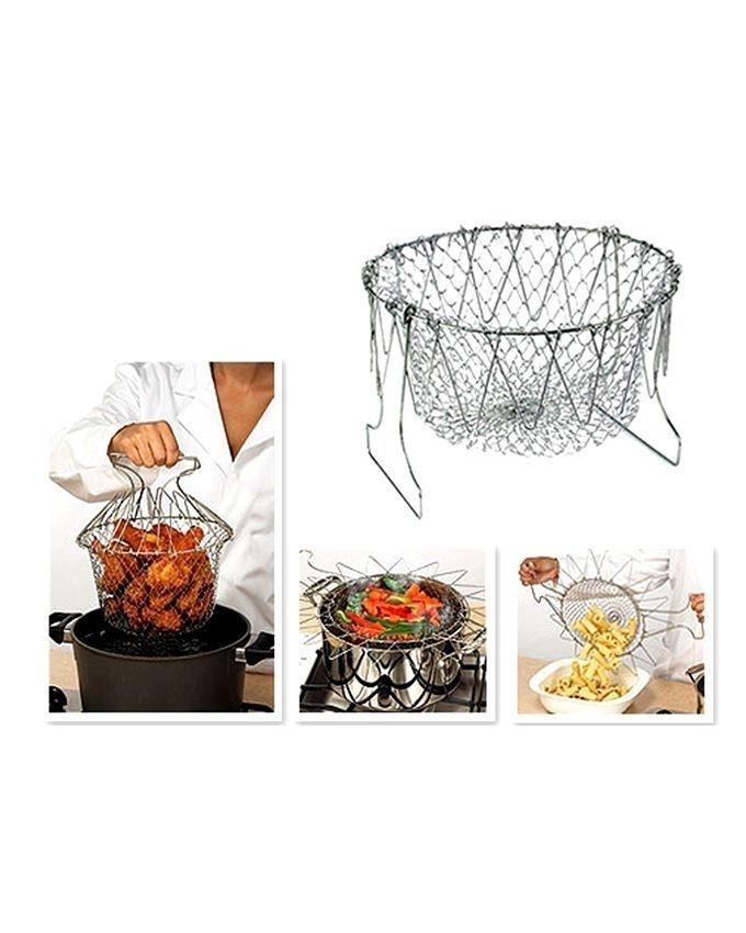 Magic Kitchen Chef Basket - Silver