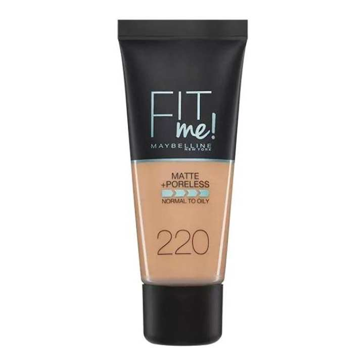 Fit Me Foundation Shade - #220 - 30ml - Natural Beige