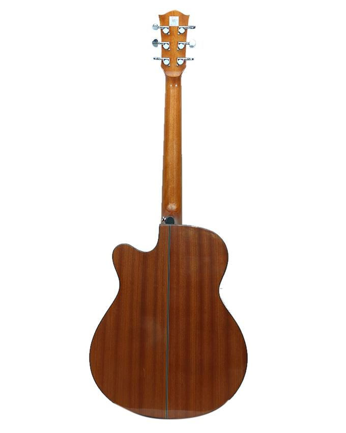 Beige and Brown Semi Professional Acoustic Guitar