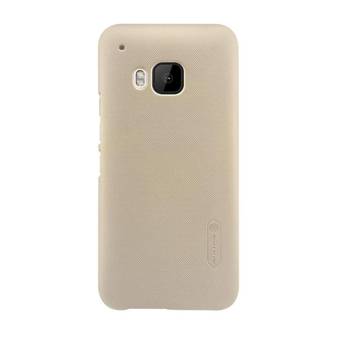 Super Frosted Shield Back Cover for HTC One M9 - Golden