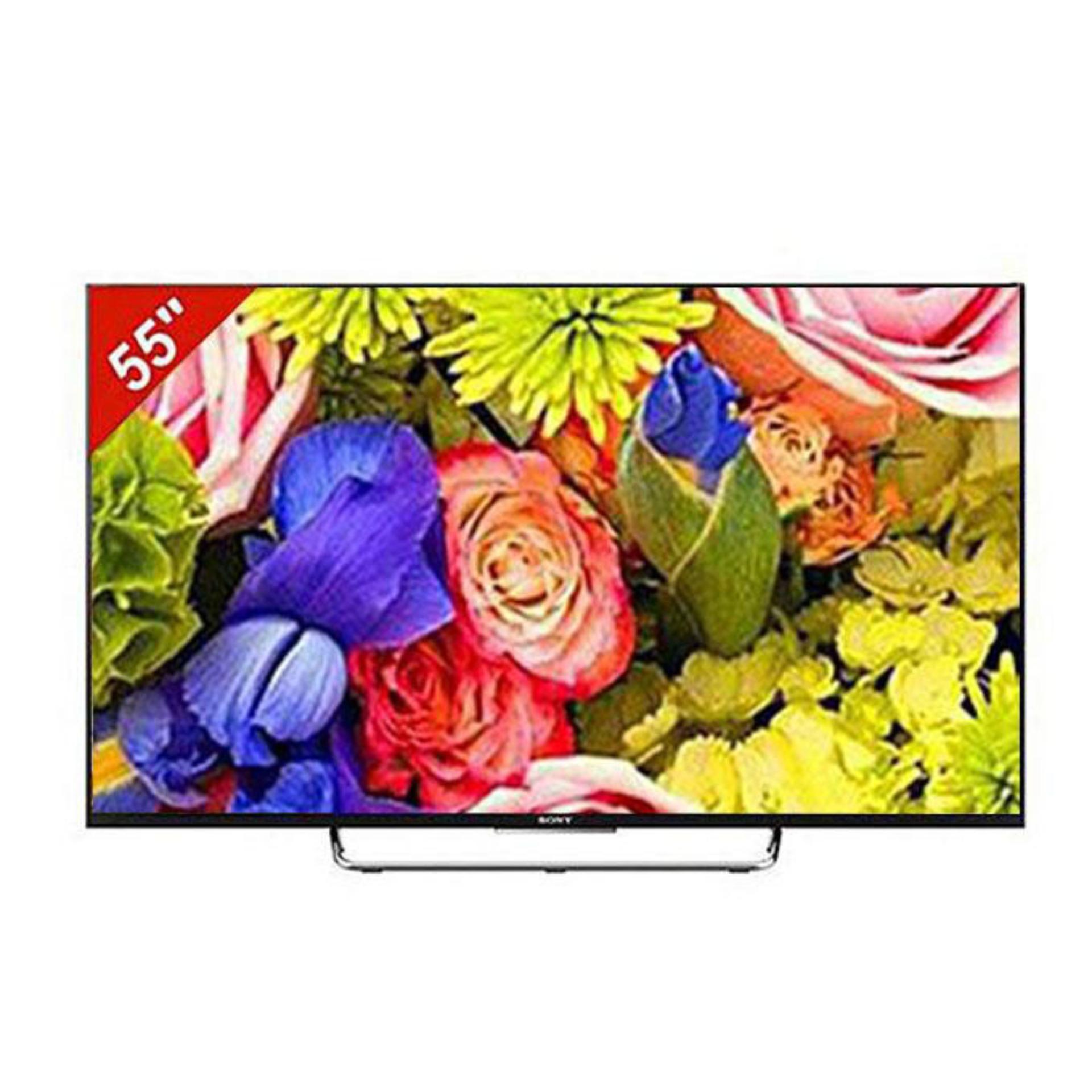 3D LED TV 55'' KDL W800C - Black