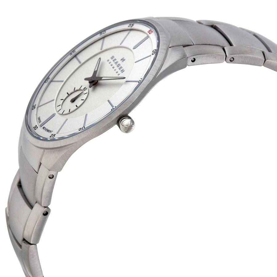 924XLSXS Stainless Steel Analog Watch for Men - Sliver