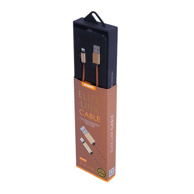 ELITE LINK Original USB Data Cable for iPhone - Brown