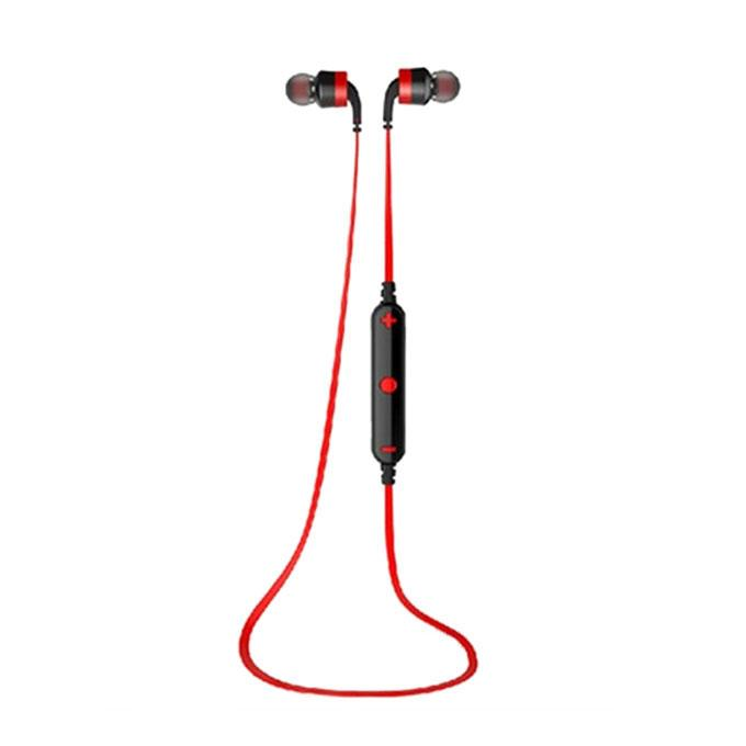 A960BL - Wireless Bluetooth Earphone - Black and Red