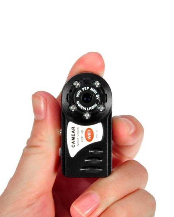 Q7 Mini HD WiFi IP Camera - Black