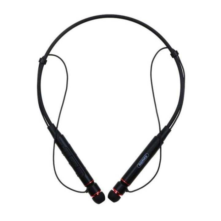 Neckband Bluetooth Earphone - Black