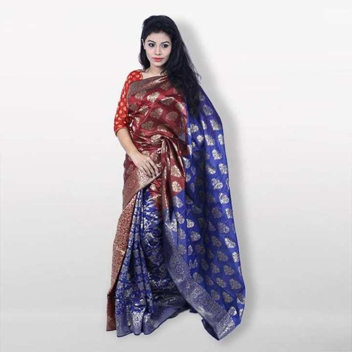 Multicolor Kota Febric Muslin Benaroshi  For Women