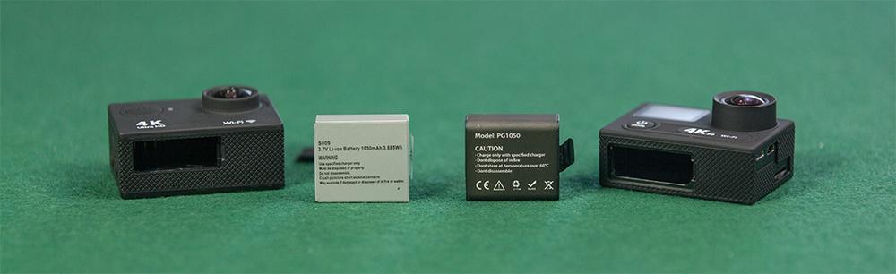 Image result for eken action camera battery
