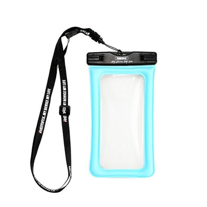 Waterproof Touch Screen Airbag Phone Case - 6 inch - Blue