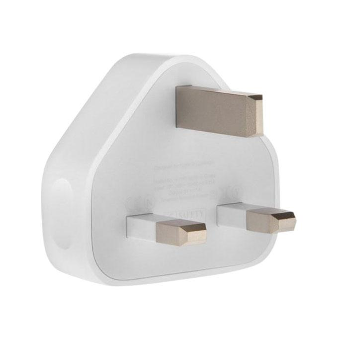 3-Pin Charging Adapter for iPhone 5 6 7 plus - White