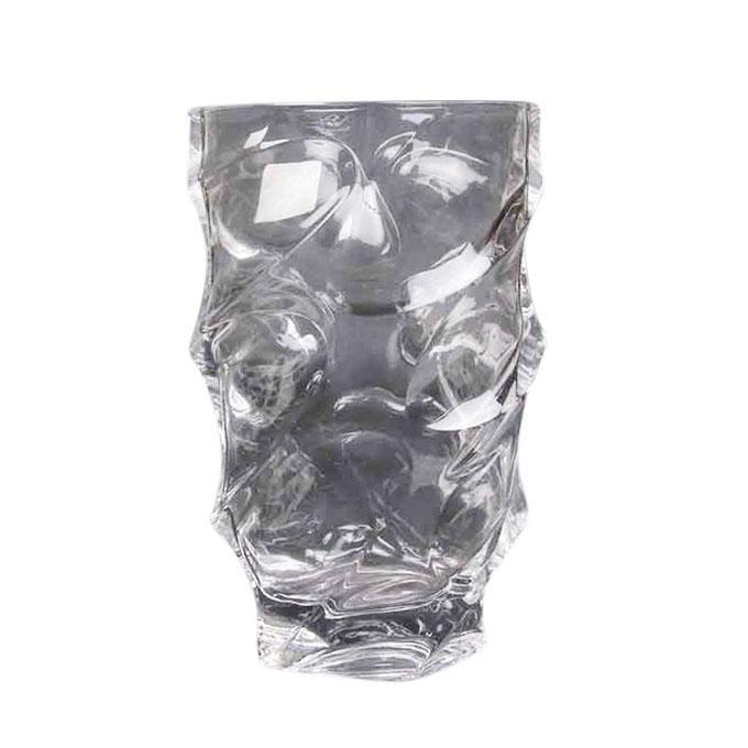 "Glass Vase - 10"" - Transparent"