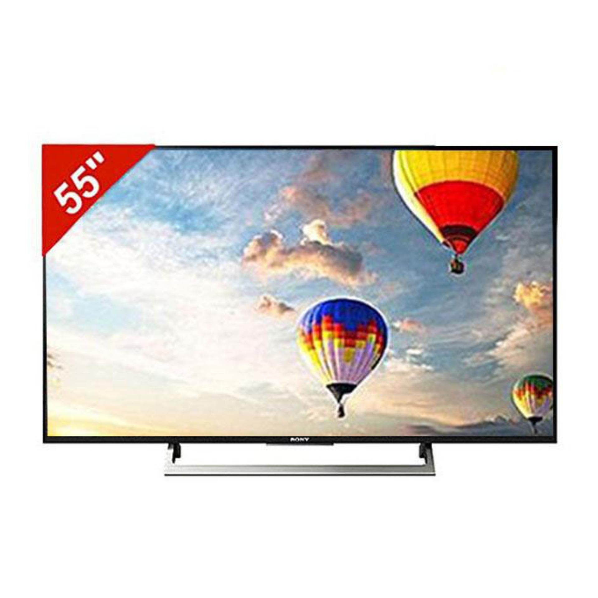 """4K Android TV - 55"""" - X8000E - Black"""