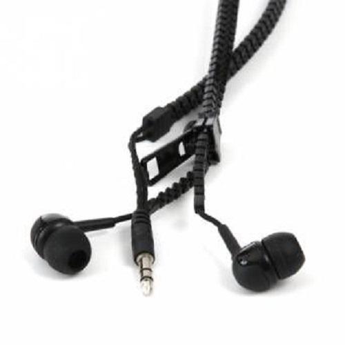 Zipper Headphones - Black