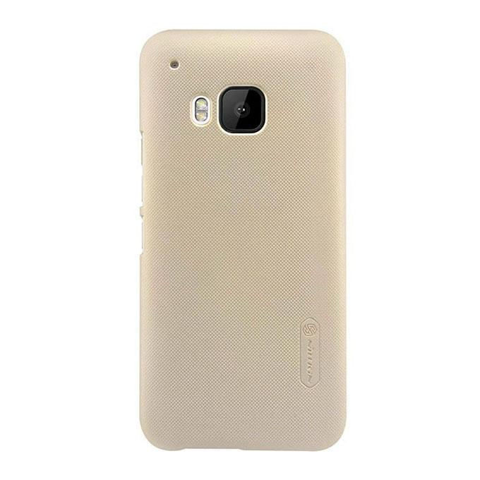 Super Frosted Shield Back Case For HTC One M9 - Golden