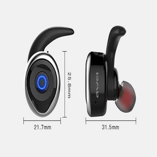T1 - Wireless Headset - Black and Blue