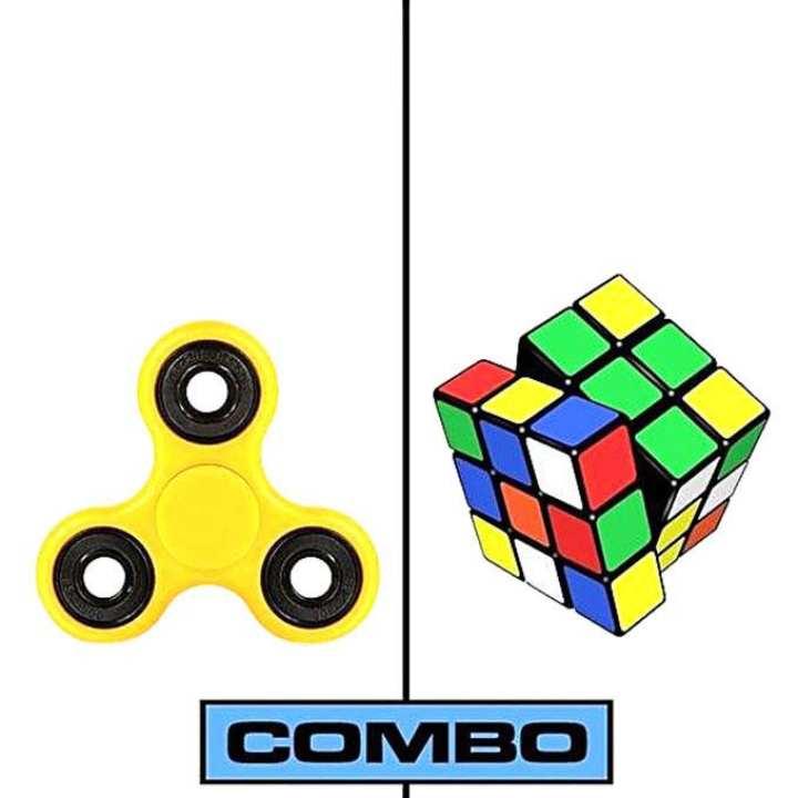 Fidget Spinner & Rubik's Magic Cube