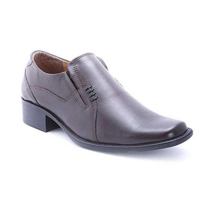 Leather Formal Shoe - Dark Brown