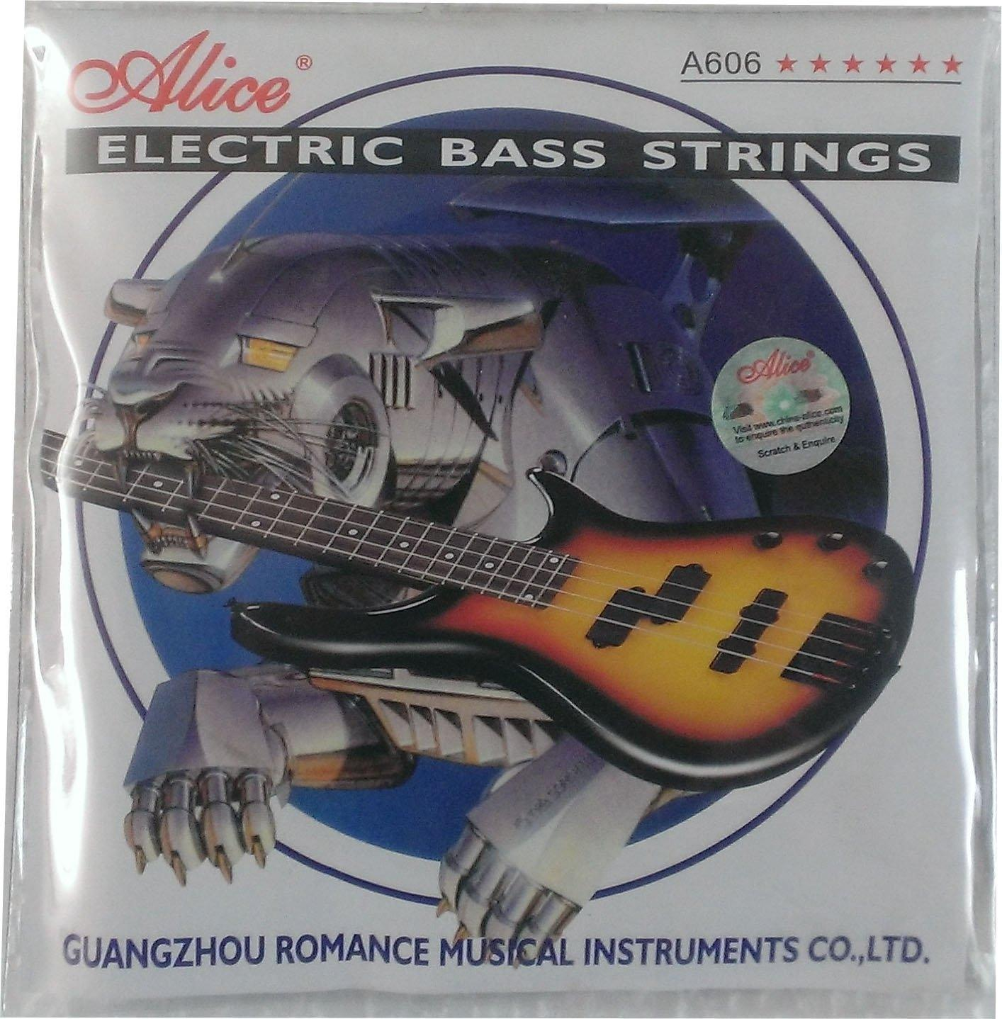 Bass Strings - Silver