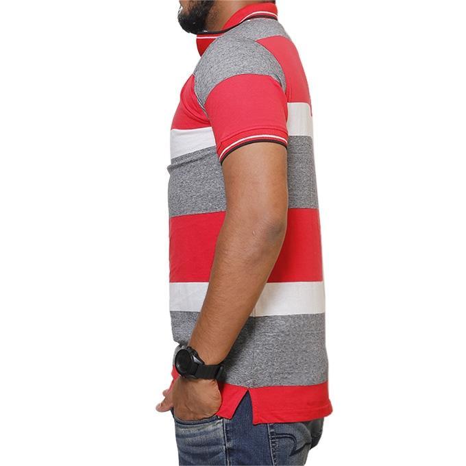 Multicolor  Cotton Polo Shirt for Men