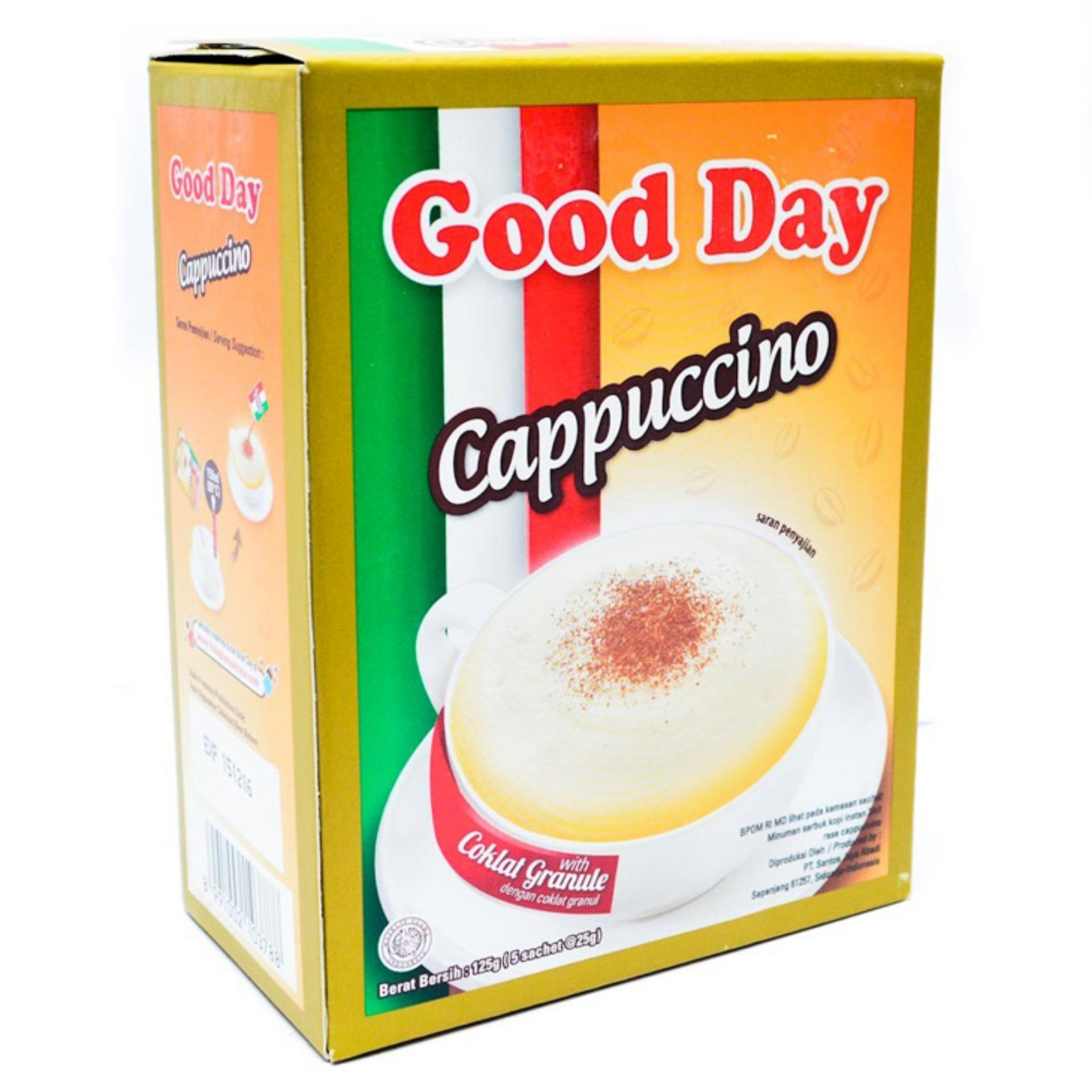 Good Day Cappuccino 3 in 1 Instant Coffee 125gm