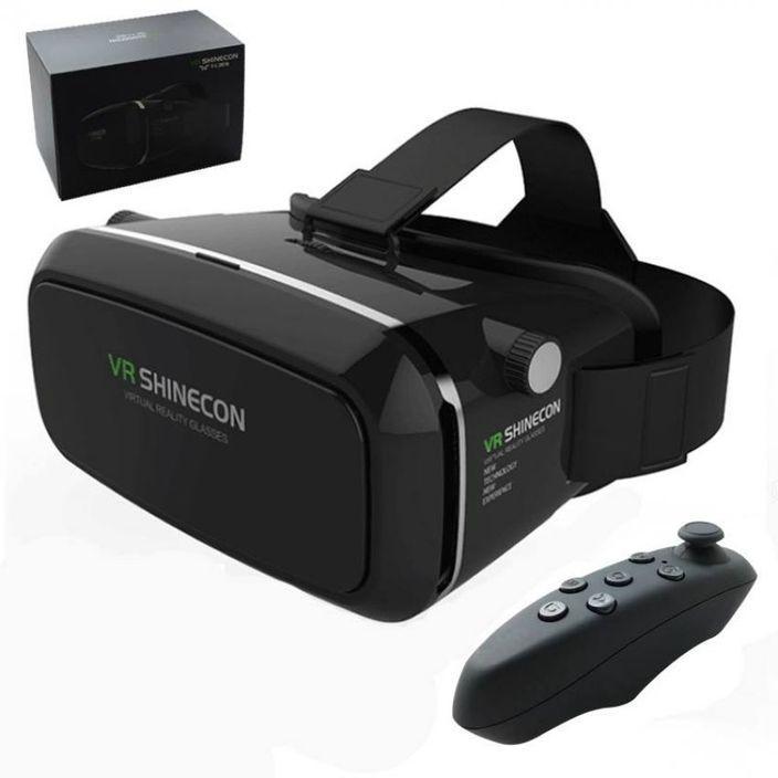 VR Box Shinecon 3D Glass with Remote
