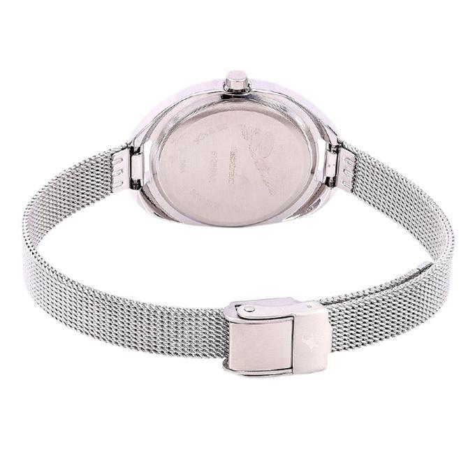 6125SM01 Metal Analog Watch For Women - Silver