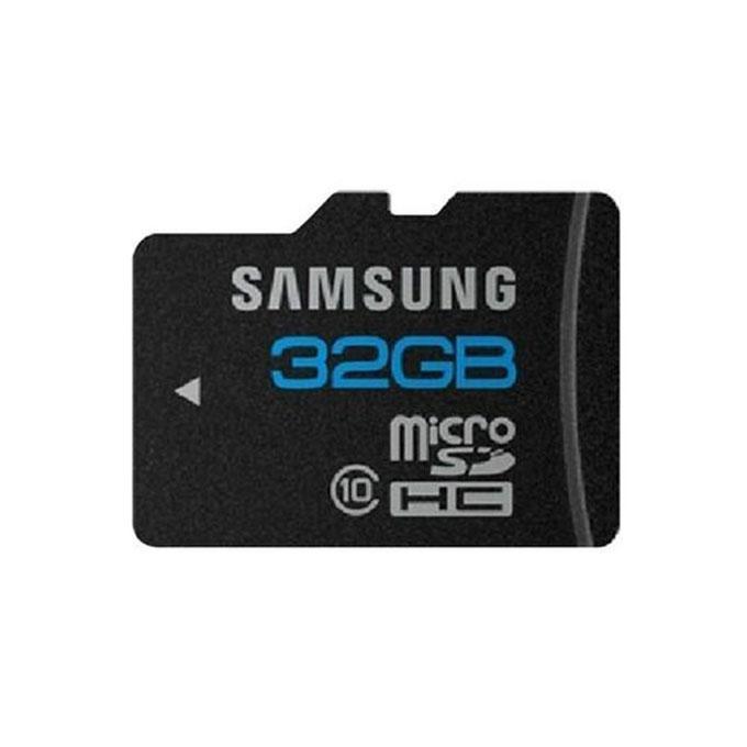 32GB Class 10 Micro SDHC Memory Card - Black