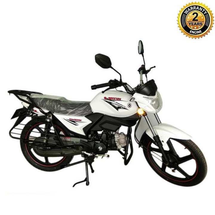 V80 XPRESS 80cc Motorcycle - White