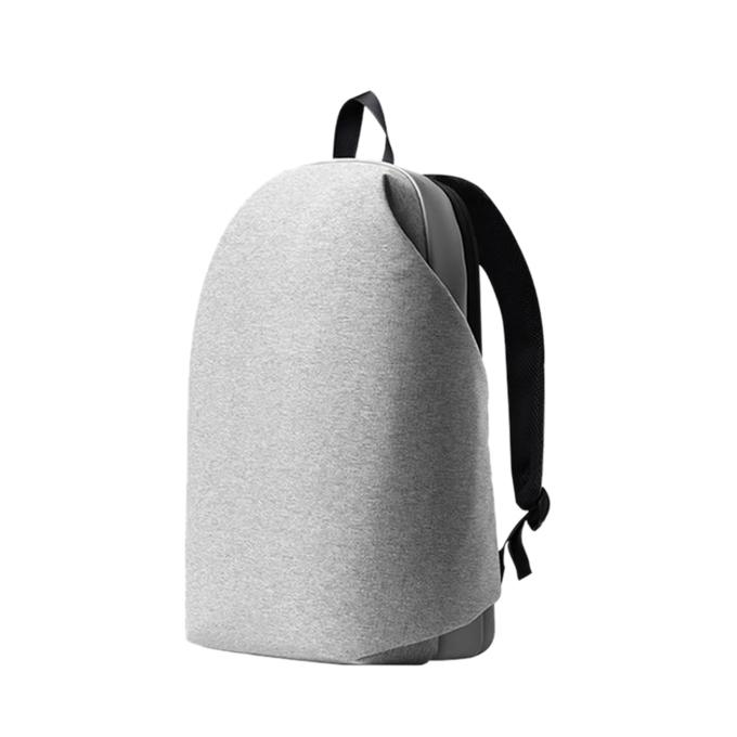 Grey Polyester Fashionable Stylish Backpack for Men