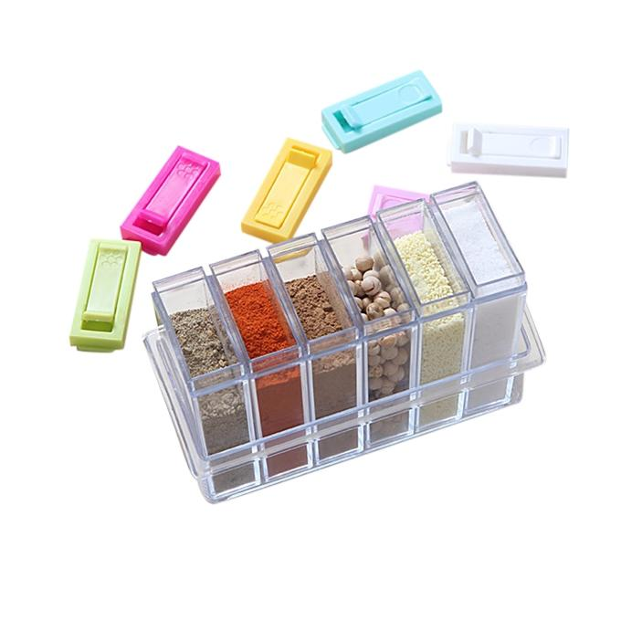 Acrylic Garam Masala Spices Storage Box