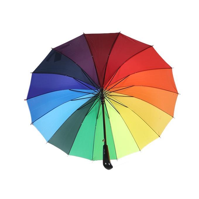 Multicolor Car Umbrella for Women- 36 Inch