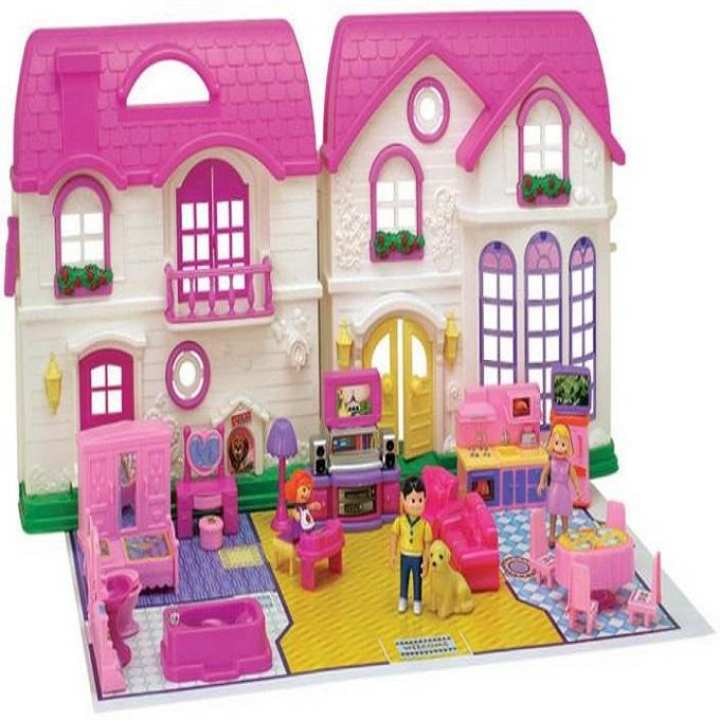 Frozen Dream House for Kids - Pink and White
